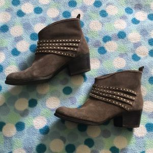 Jessica Simpson Suede Ankle Booties